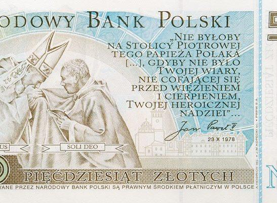 50zł Jan Paweł II