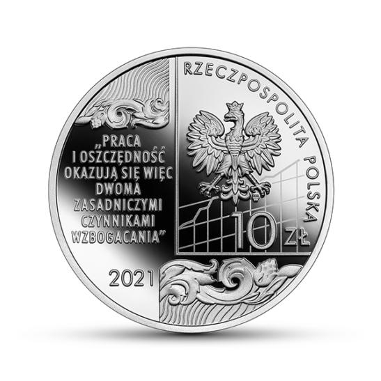 10 zł Wielcy polscy ekonomiści - Adam Heydel