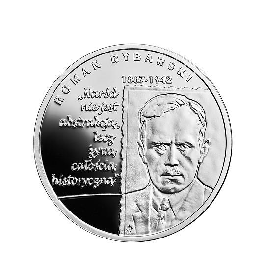10 zł Wielcy polscy ekonomiści - Roman Rybarski
