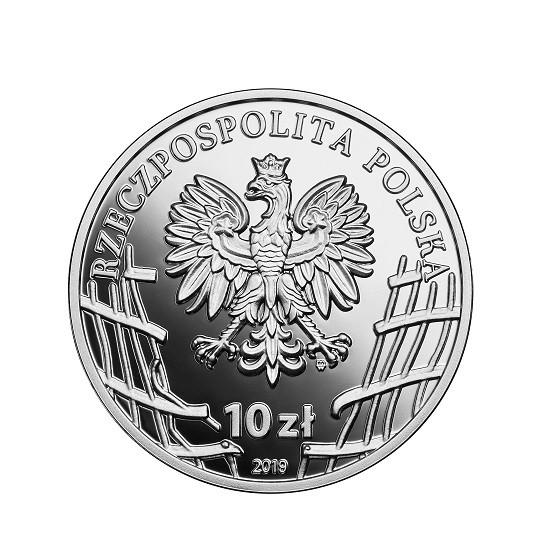 """Wyklęci przez komunistów żołnierze niezłomni - 10 zł Stanisław Kasznica """"Wąsowski"""""""