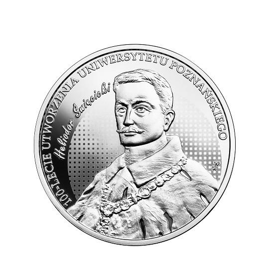 10 zł 100-lecie utworzenia Uniwersytetu Poznańskiego